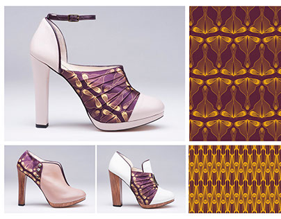 New Decó Pattern Collection for Alex André Shoes FW15