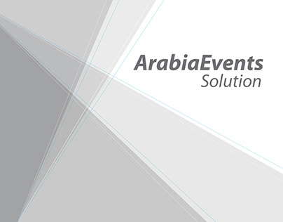 Arabia Events Logo & brand identity