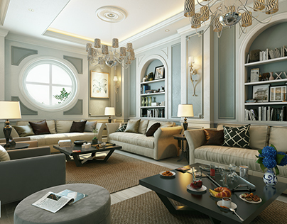 Reception & Master Bedroom Design
