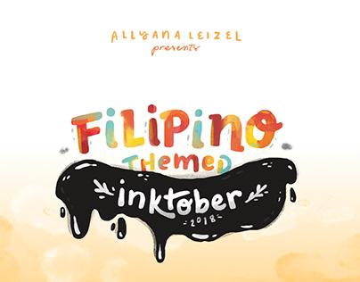 Filipino Inktober [ongoing]