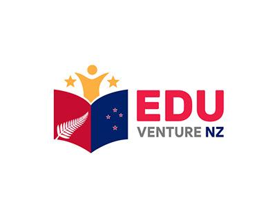 EDU VENTURE NZ logo design