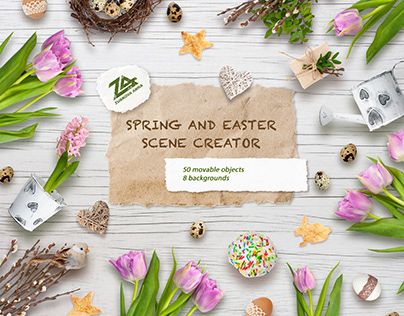 Spring & Easter scene creator