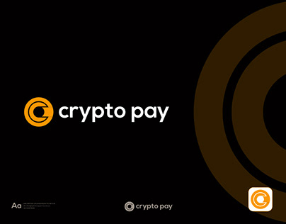 Cryptocurrency Logo, bitcoin, modern logo, logo folio