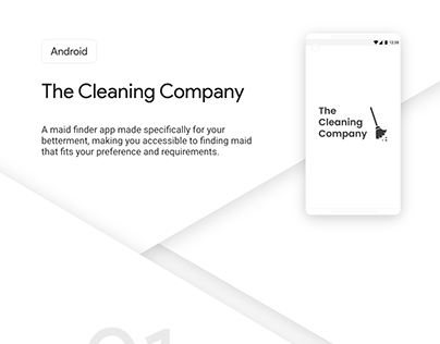 Android Presentation - The Cleaning Company