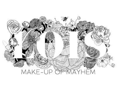 Make-Up of Mayhem Logo