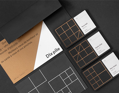 Dix pile - Branding