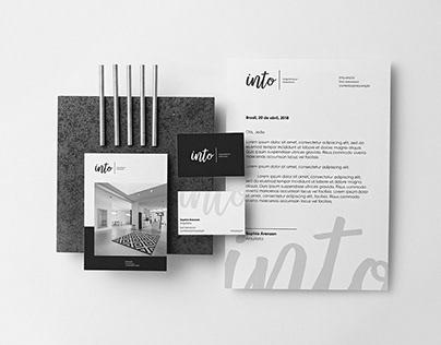 Into Arquitetura + Interiores - Logo.