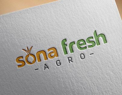 Sona Fresh Agro   Branding