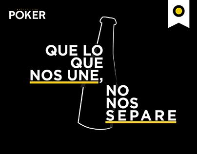 Poker Beer | Film | Que lo que nos une, no nos separe