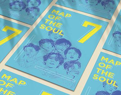 BTS - Map of the Soul: 7 - Brand Identity Design
