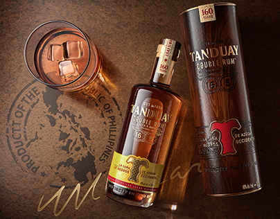 Tanduay Double Rum CGI