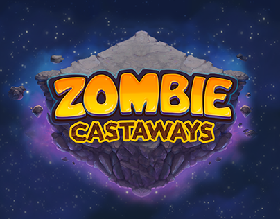 Game art for ZOMBIE CASTAWAYS