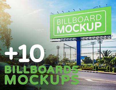 Billboards Mockups Vol.4