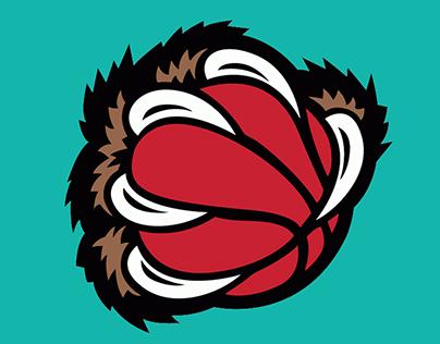 2019 Memphis Grizzlies Throwback Branding Concept