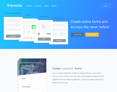 formsite Create online forms and survey webdesign idea
