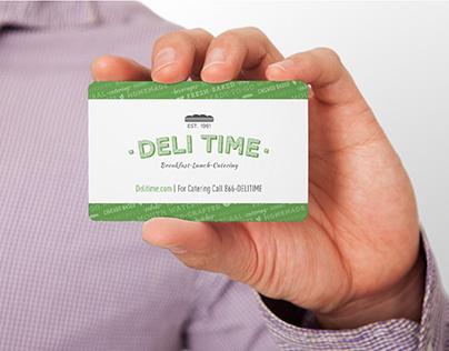Deli Time Menus & Gift Card