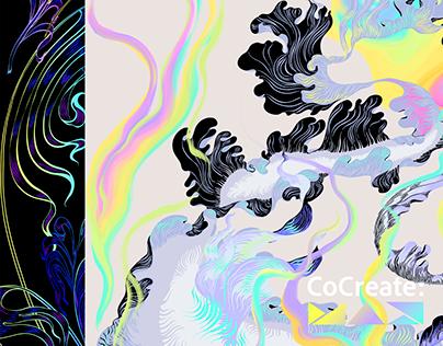 Adobe CoCreate MAX Illustrations