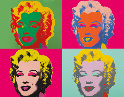 Andy Warhol Exhibition Design