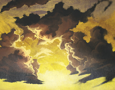 """No Man's Land / Sort"" - Part 3 (Matte Painting)"
