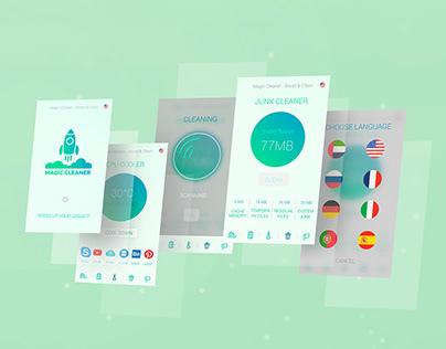 App Design Magic Cleaner
