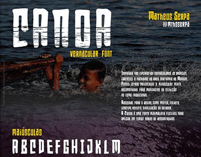 Canoa Vernacular Font