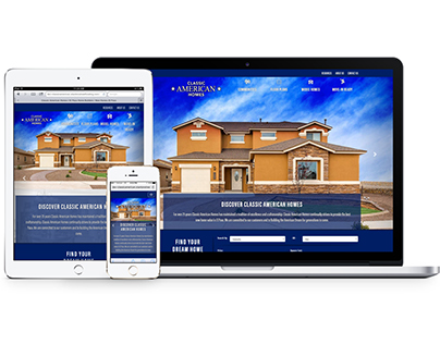 Responsive Web: Classic American Homes