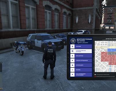 GTA Police tablet