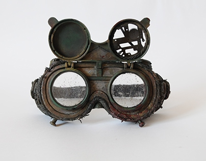 Post apocalyptic glasses