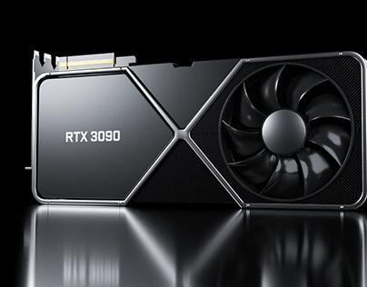 Nvidia RTX 3090 3D Model