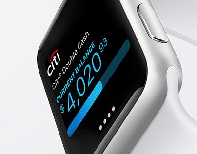 Citi Mobile Lite for Apple Watch