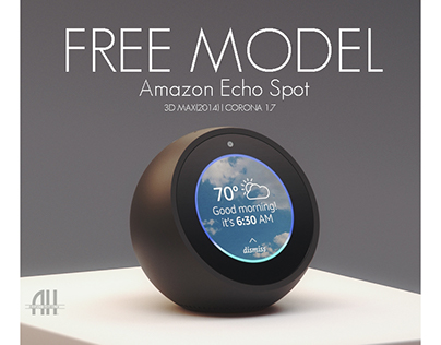 Free Model | Amazon Echo Spot
