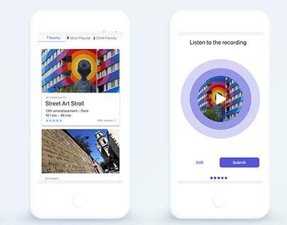 A Sports App for urban explorers