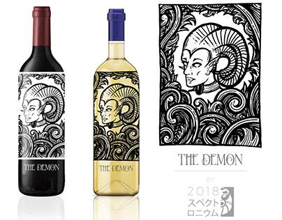 Demon Wine - Concept Packaging