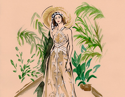 Resort 2019 Fashion Illustrations