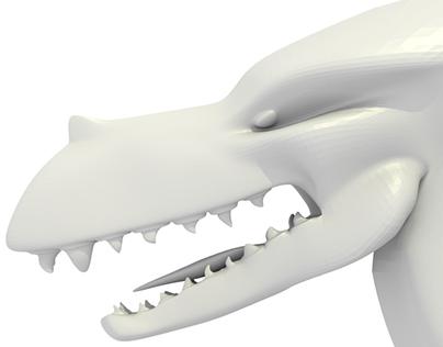Dragon Model- Blender