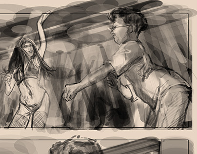 storyboards for music video starring Keenan Cahill