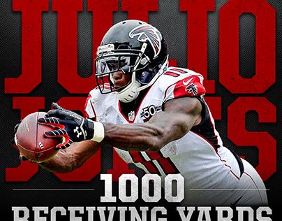 Atlanta Falcons Rookie Season | Social Media Graphics