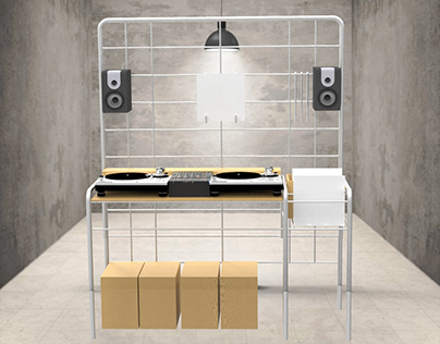 Selector - The ideal piece of furniture for DJs
