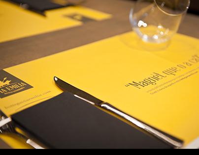 Bottega Via Emilia • Visual Identity & Product labels