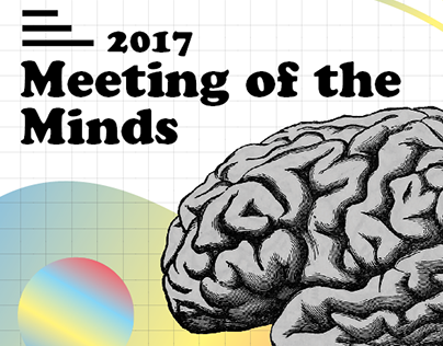Meeting of the Minds Poster - Lesley University