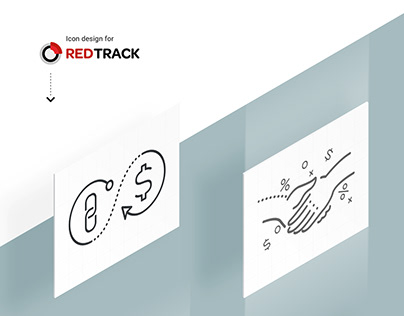 Custom icons for Redtrack affiliate marketing company