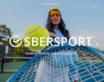 Healthy lifestyle magazine. Sbersport.