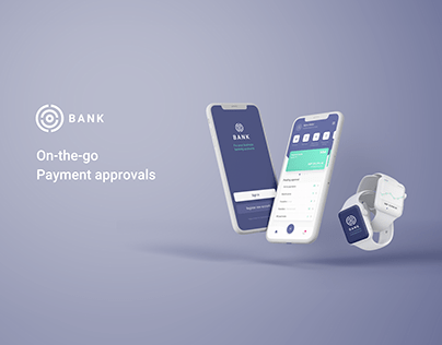 UX/UI Concept for a Payment Approvals App