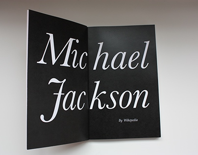 The Legend Michael Jackson -  Wikibook design