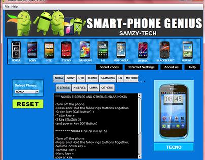 Smart-Phone Genius(PC VERSION) – SmartPhones Unlock & R