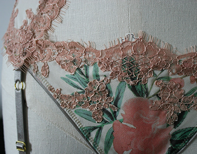 Tropic Topic: Handmade 3-Piece lingerie Set