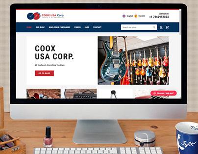Coox Usa - Web eCommerce