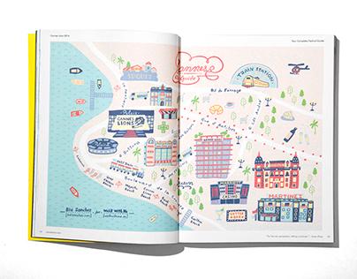 Cannes Lions Maps