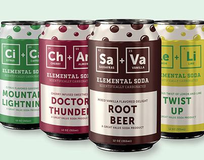 Great Value Soda - Rebranding