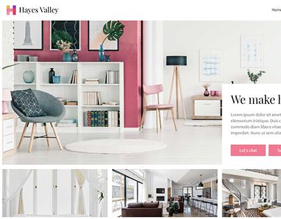 Hayes Valley Webflow
